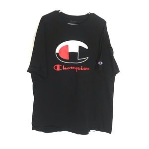Champion Shirts - CHAMPION SPELLOUT LOGO T-SHIRT